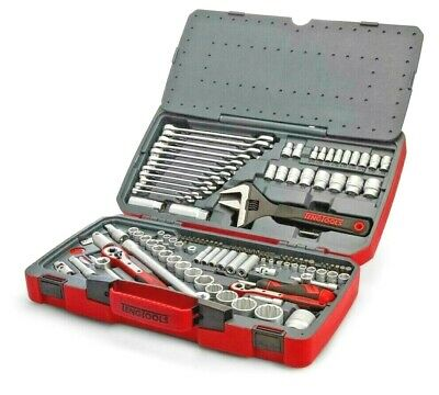 "Teng 127 Piece 1/4"", 3/8"", 1/2"" Drive Sockets,Ratchet,Spanner Tool Kit Set,TM127"