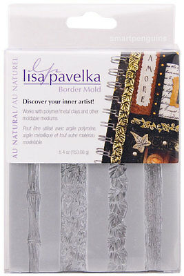 Lisa Pavelka Border Mold Au Natural Polymer Clay