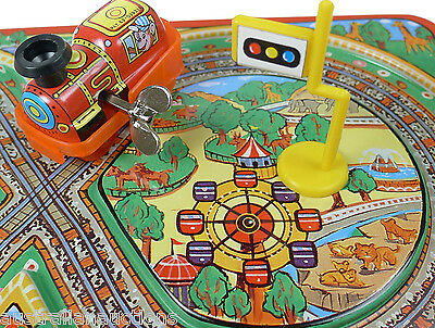 Fairyland Toy Train  Express Original  With Track Wind Up Toy Japanese Version