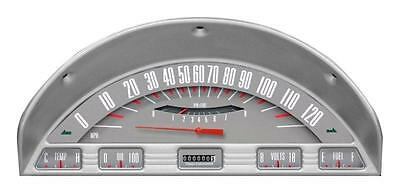Classic Instruments 1956 Ford F-100 Truck Gauge Panel Cluster Dash Bezel (Grey)