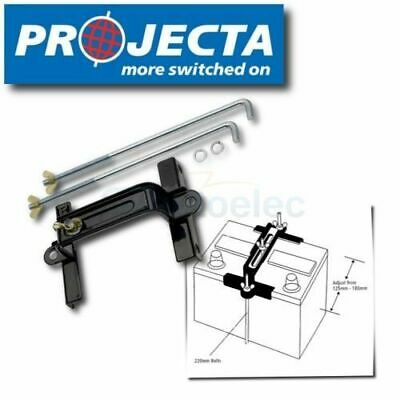 PROJECTA ABC30 UNIVERSAL & ADJUSTABLE BATTERY HOLD DOWN TRAY CLAMP 125mm - 180mm