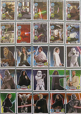Part 8//11, #175-192 Star Wars Force Attax Choose One Movie 2 Card