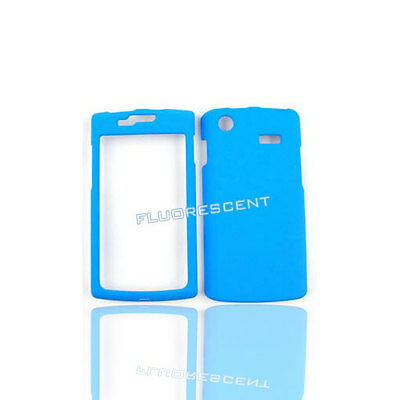 Fluorescent Cover for AT&T SAMSUNG Galaxy S Captivate i897 Case F Blue
