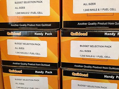 1 Budget Selection Pack For Paslode Im350/5 Types Of Nails In Each Pack