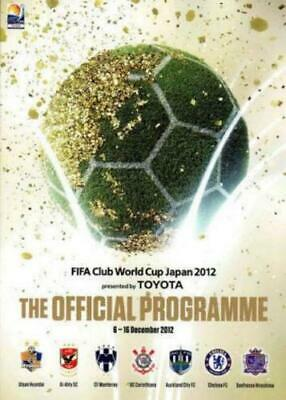 * Fifa Club World Cup 2012 Official Tournament Programme Includes Chelsea *