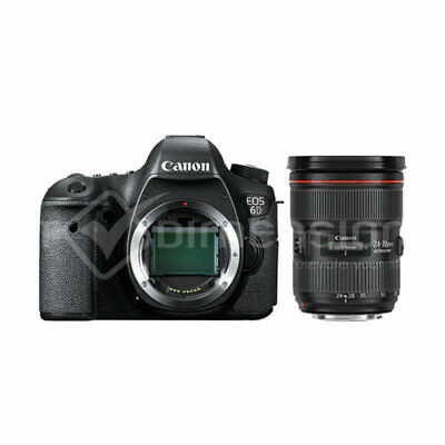 Canon EOS 6D with EF 24-70mm f2.8L II Lens Kit