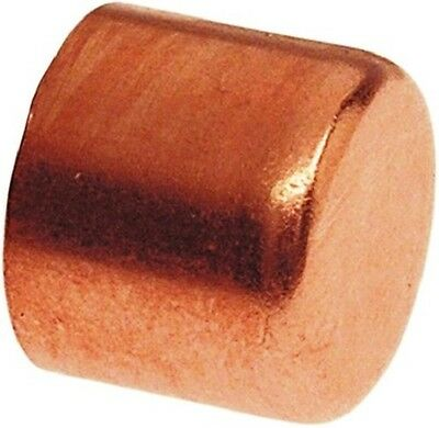 "Plumbing Copper Fitting End Cap 1"" diameter"