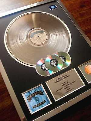 Bon Jovi New Jersey Lp Multi Platinum Disc Record Award Album