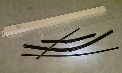 Holden commodore VE onward windscreen wiper blades set + 2 refill blades