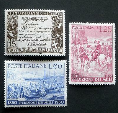 100 X  Italy  All Different Mint Stamps Including Commemorative Issues