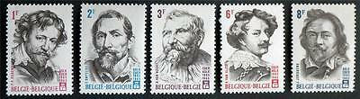 200 X  Belgium  All Different Mint Stamps Including Commemorative Issues