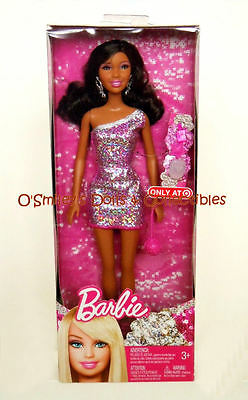 GLAMOUR JEWEL CHRISTIE (AA) African Barbie TARGET FOREIGN EXCLUSIVE_X4860_NRFB