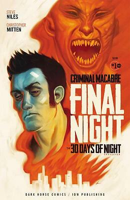 Criminal Macabre: Final Night -The 30 Days Of Night Crossover #1 Of 4 Nm