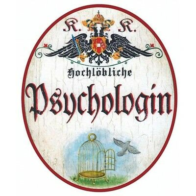 Psychologin Nostalgieschild