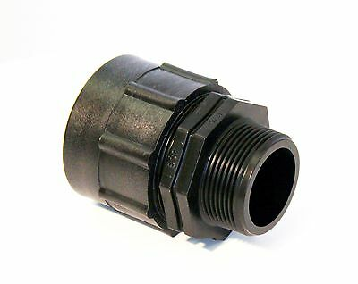 "IBC ADAPTER Fitting to 1-1/2"" BSP MALE THREAD Storage Tank Water Oil Tote"