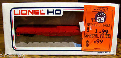 Vintage Lionel 5-8414 SANTA FE Flat Car #28414 HO Scale MINT in Box VERY RARE