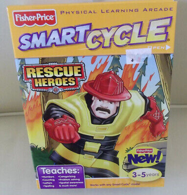 Interactive Smart Cycle Physical Learning Arcade Rescue Heroes Game