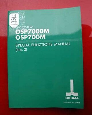Okuma CNC Systems Special Functions Manual #2 3774-E (Inv.12312)
