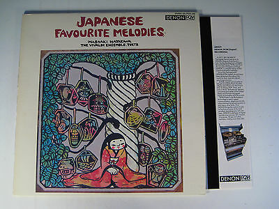 "Denon Pcm Japan Lp/ ""japanese Faourite Melodies"" 1977"