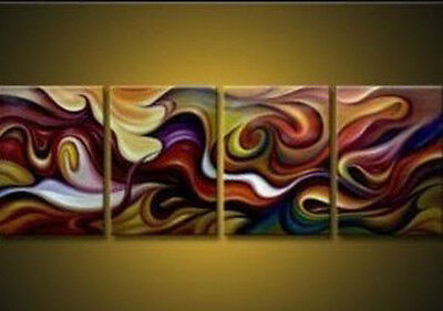 4PC Modern Abstract Art Oil Painting Wall Deco canvas