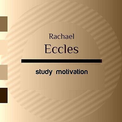 Study Motivation, Study aid Hypnosis Hypnotherapy CD, Rachael Eccles