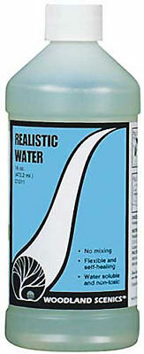 NEW Woodland Scenics Realistic Water 16 oz C1211
