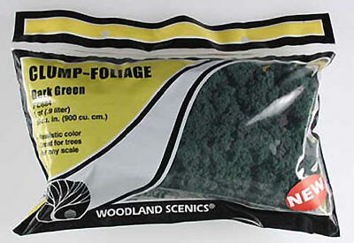 NEW Woodland Scenics Clump Foliage Dark Green FC684