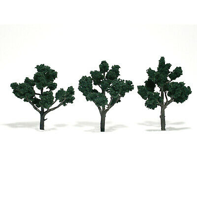 NEW Woodland Scenics Assembled Tree Dark Green 5  TR1511