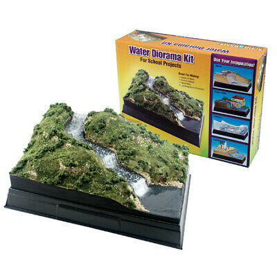 NEW Woodland Scenics Scene-A-Rama Water Diorama Kit SP4113