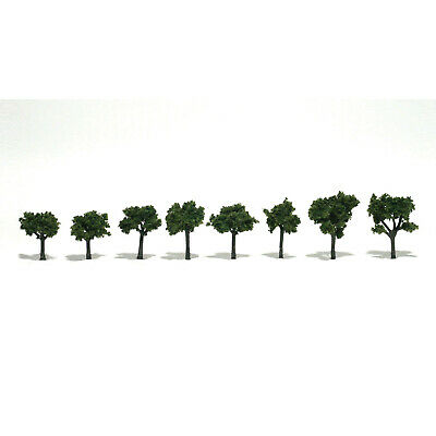 NEW Woodland Scenics Assembled Tree Medium Green 1-1/4  TR1501