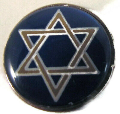 JEWISH STAR of DAVID LUCKY CHALLENGE GOOD LUCK COIN QUARTER