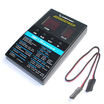 HOBBYWING LED PROGRAM Card Box C For QuicRun Ezrun Series Car ESC