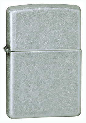 Zippo Lighter Antique Silver Plate Personalised Free
