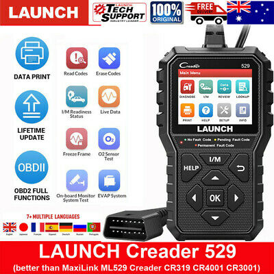 LAUNCH X431 CRP123 All System Auto Engine OBD2 EOBD Diagnostic Scanner Scan Tool
