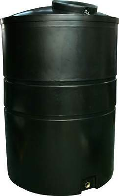 "ECOSURE 3000 LITRE Water Butt Rain Water Harvesting Tank - BLACK - 1"" OUTLET"