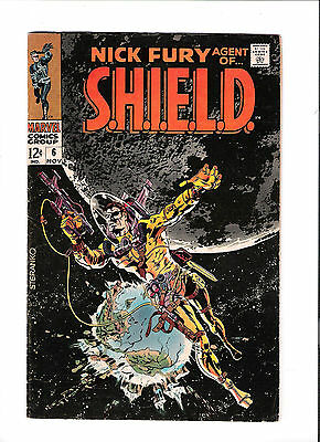 NICK FURY AGENT OF SHIELD #6  Silver Age find from Marvel Comics!