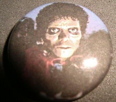 Retro Badge Pin Button Thriller Michael Jackson N-¦6