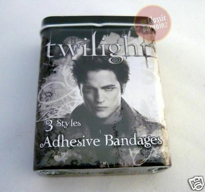 TWILIGHT =BANDAGES BANDAID in TIN CONTAINER 3-style NEW