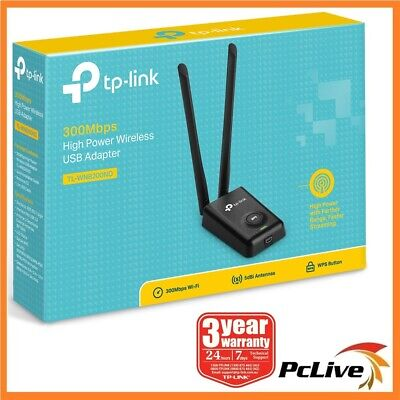 NEW TP-Link TL-WN8200ND 300Mbps High Power 5dBi Wireless N USB Network Adapter