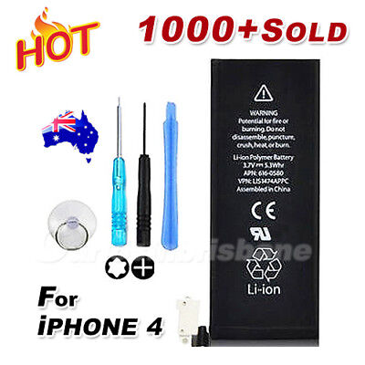 Brand New 1420mAh Replacement Battery Tools for iPhone 4 4G OEM Premium