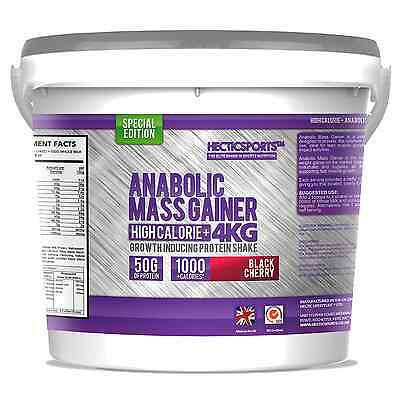 4Kg Mass Gainer Whey Protein Weight Gain. High Calorie+ Fortified With Bcaa's
