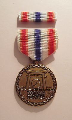 U.S. Merchant Marines Korean War Medal with RIBBON