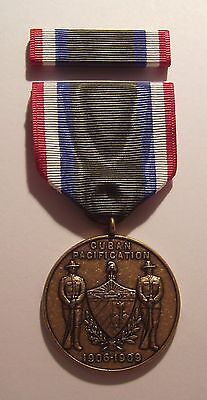 1906 U.S. Army Cuban Pacification Medal with RIBBON