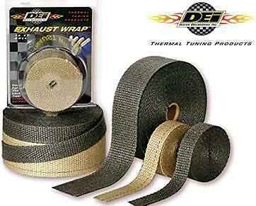 "DEI PERFORMANCE THERMAL HEAT EXHAUST WRAP BLACK 2"" x 50' FT 010108"