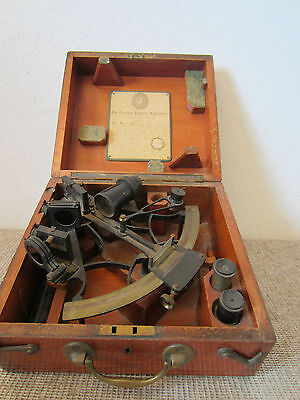 Antique, Maritime Heath & Co. British Sextant