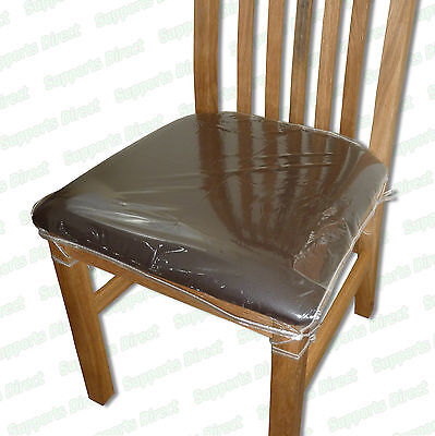 Strong Dining Chair Protectors Clear Plastic Cushion Seat Covers Protection