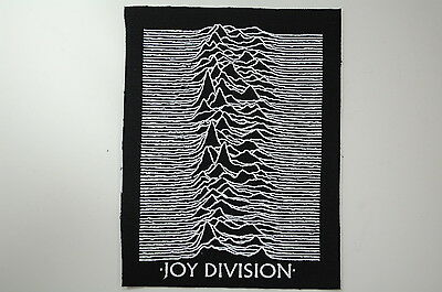 Joy Division Cloth Patch (CP153) Rock The Smiths Siouxsie Radiohead Morrissey