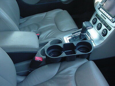 VW Passat double Cup & Cell Phone ipod Holder lighter 3 colors no tool install