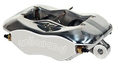 """New Wilwood Forged Dynalite Brake Caliper,Polished For 1"""" Rotors,1.62"""" Pistons"""