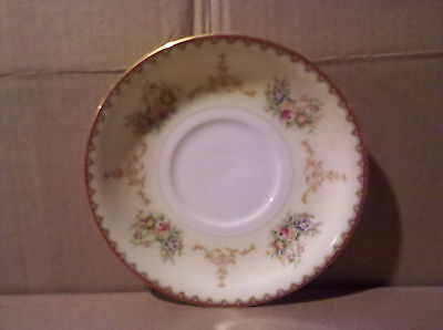 MEITO CHINA OGDEN HAND PAINTED SAUCER PLATE MADE IN JAPAN